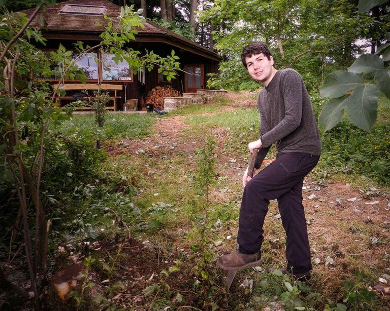 James at Fishpond Edit - Fishpond Wood, Bewerley, Nidderdale